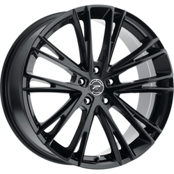 Platinum 458BK Prophecy 18X8