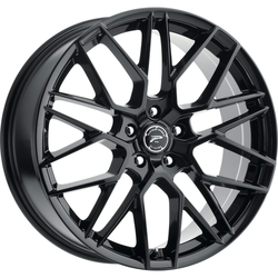 Platinum 459BK Retribution 18X8